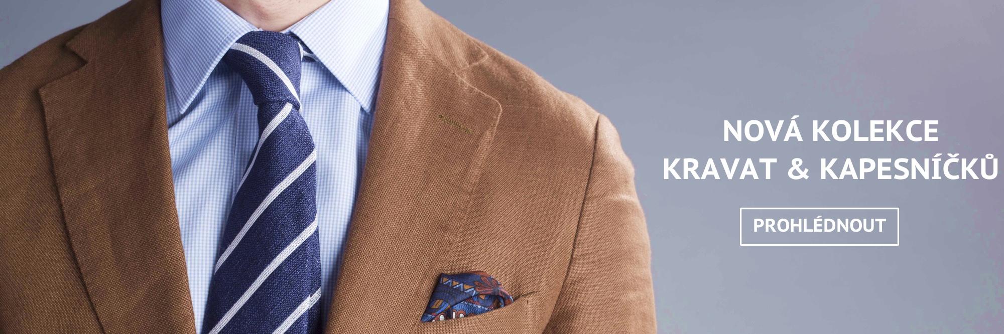 Letní kolekce kapesníčků a kravat