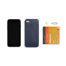 Bellroy Phone Case 3Card iPhone 7 - Blue Steel