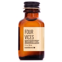 Olej na plnovous BeardBrand Four Vices (30 ml)