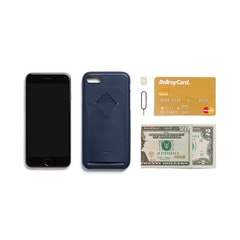 Bellroy Phone Case 1Card iPhone 7/8 - Blue Steel