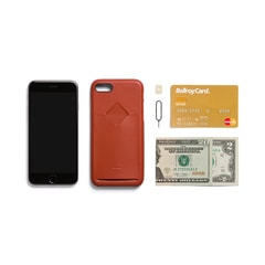 Bellroy Phone Case 1Card iPhone 7/8 - Tamarillo