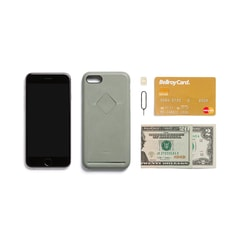 Bellroy Phone Case 1Card iPhone 7/8 - eukalyptus