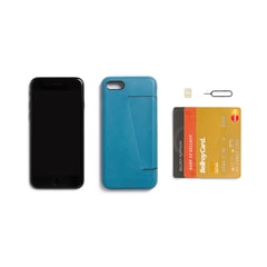 Bellroy Phone Case 3Card iPhone 7/8 - Arctic Blue