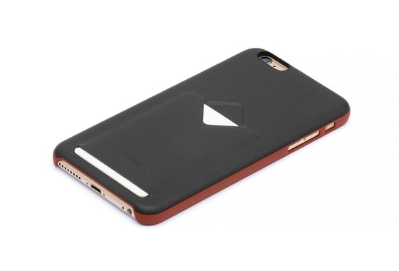 Bellroy Phone Case 1Card iPhone 6/6s - Tamarillo/antracit