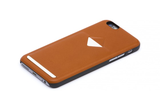 Bellroy Phone Case 1Card iPhone 6/6s - karamel/antracit