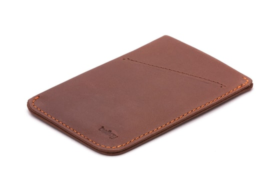 Bellroy Card Sleeve - kakaová