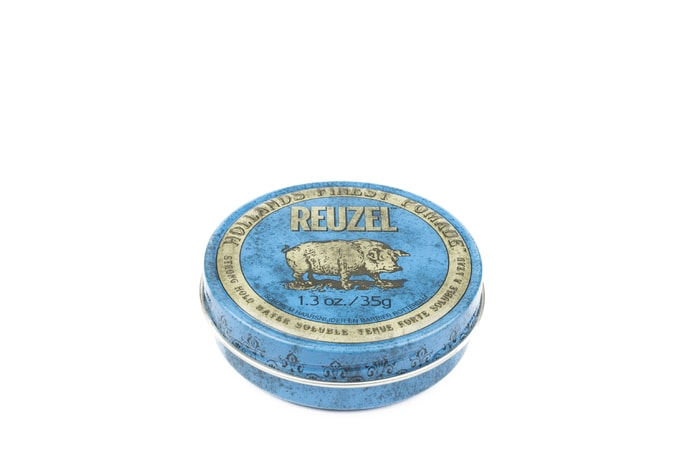 Reuzel Blue Water Soluble Strong Hold - pomáda na vlasy (35 g)
