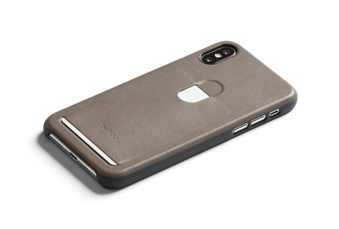 Bellroy Phone Case 1Card iPhone X - kamenná hnědá