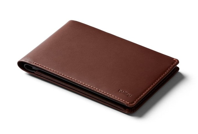 Bellroy Travel Wallet RFID - kakaová